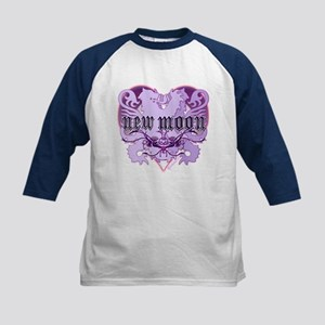New Moon Violet Edwardian Lions Crest Kids Basebal