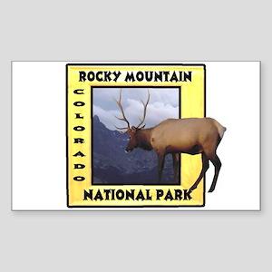 Rocky Mountain National Park Rectangle Sticker