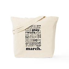 Marching Band Life Tote Bag
