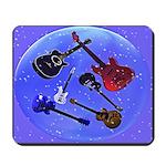 Guitars In A Bubble Mousepad