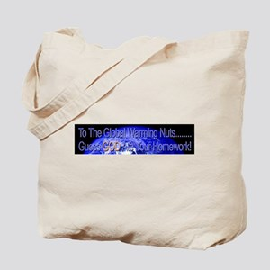 GOD ATE THEIR HOMEWORK Tote Bag