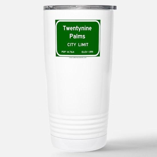Twentynine Palms Stainless Steel Travel Mug