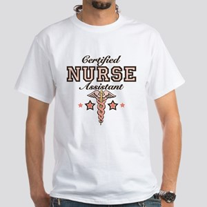 Certified Nurse Assistant White T-Shirt