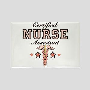 Certified Nurse Assistant Rectangle Magnet