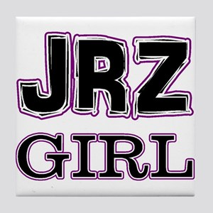 JRZ Girl Tile Coaster