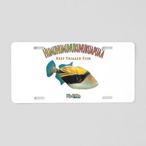 Humu Aluminum License Plate