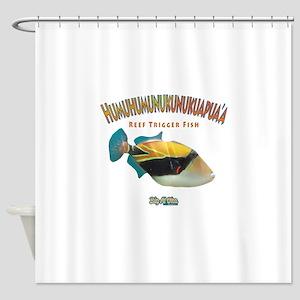 Humu Shower Curtain