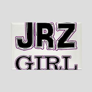 JRZ Girl Rectangle Magnet