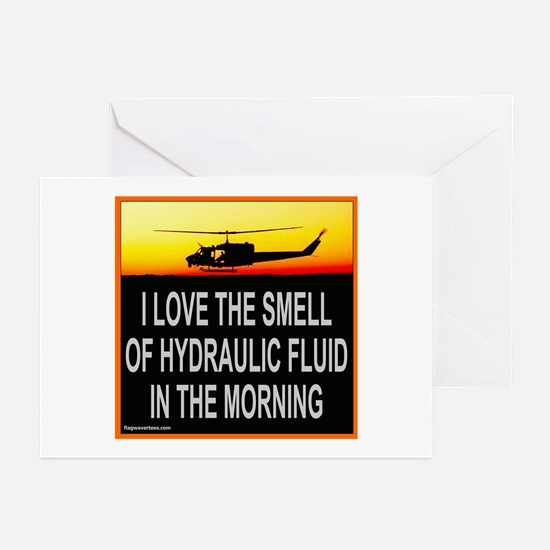 SMELL OF HYDRAULIC FLUID Greeting Cards (Pk of 10)