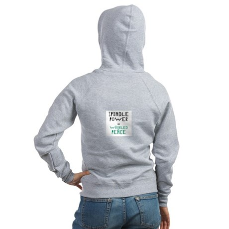 Whorled Peace Hoodie for Spinners + Textile Lovers