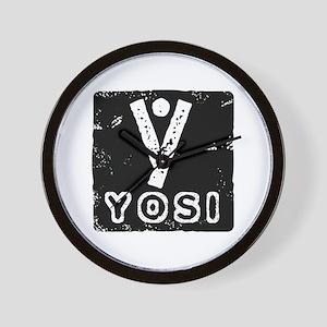 Yosi_2 Wall Clock