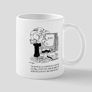 Football Cartoon 9092 11 oz Ceramic Mug