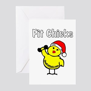 Fit Chicks Greeting Cards (Pk of 10)
