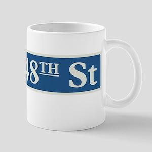 East 48th Street in NY Mug