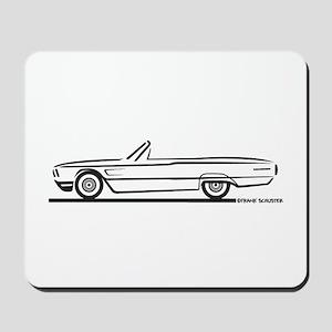 1965 Ford Thunderbird Convertible Mousepad