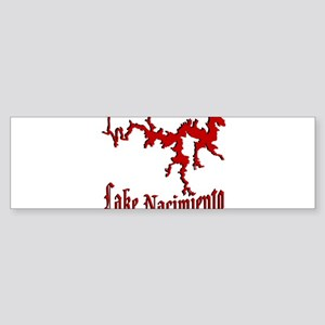 NACI (822 CRIMSON) Bumper Sticker