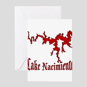 NACI (822 CRIMSON) Greeting Card