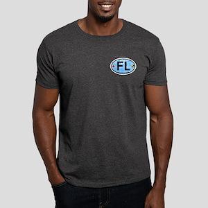 Fort Lauderdale FL - Oval Design Dark T-Shirt