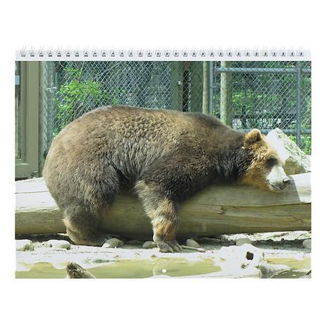I Love Log Wall Calendar