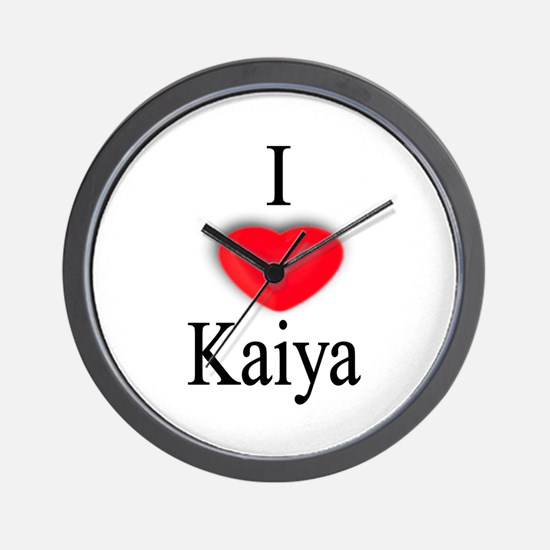 Kaiya Wall Clock
