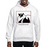 Keeshond Graphics Hooded Sweatshirt