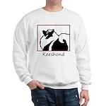 Keeshond Graphics Sweatshirt