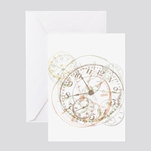 Untimely Perceptions Greeting Card