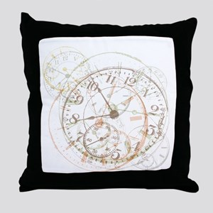 Untimely Perceptions Throw Pillow