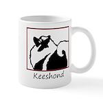 Keeshond Graphics 11 oz Ceramic Mug