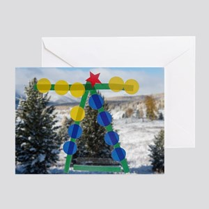 2009 holiday card Greeting Cards