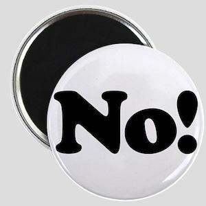 No! Magnet