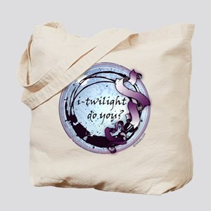 i-twilight do you? Moonlight Ribbon Crest Tote Bag