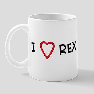 I Love REX Mug