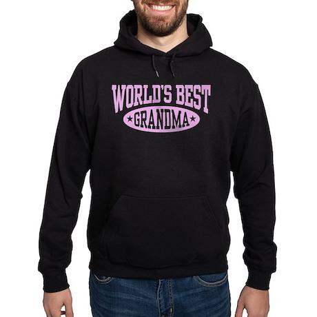 World's Best Grandma Hoodie (dark)