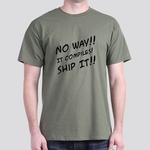 It Compiles! Dark T-Shirt