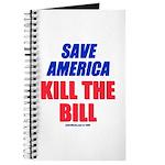 Kill The Bill Journal