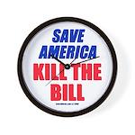 Kill The Bill Wall Clock