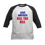 Kill The Bill Kids Baseball Jersey