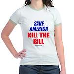 Kill The Bill Jr. Ringer T-Shirt