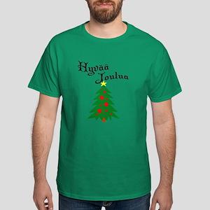 Finnish Christmas Tree Dark T-Shirt