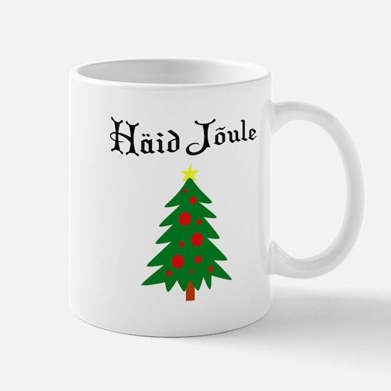 Estonian Christmas Tree Mug