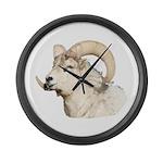 The Ram Large Wall Clock