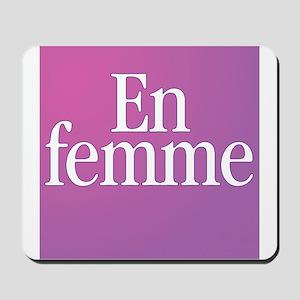 Transgender En Femme Mousepad
