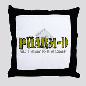 pharmacists II Throw Pillow
