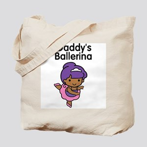 Daddy's Ballerina (Ethnic) Tote Bag