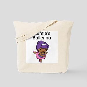 Auntie's Ballerina (Ethnic) Tote Bag