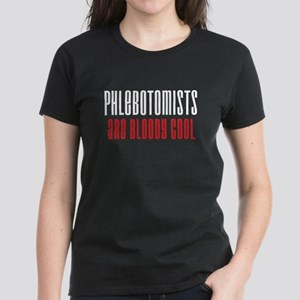 Phlebotomists Women's Dark T-Shirt