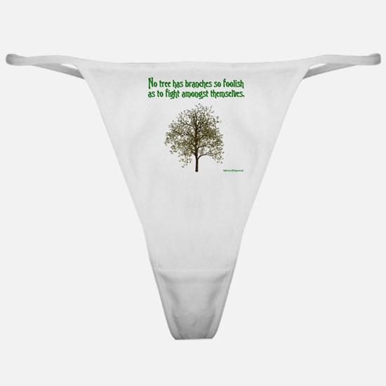 Foolish Branches Classic Thong