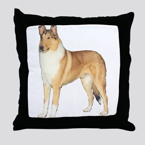 Smooth Collie Gifts Throw Pillow