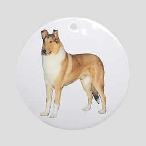 Smooth Collie Gifts Ornament (Round)